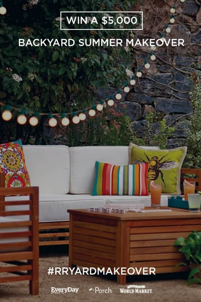 Win a $5,000 Summer Backyard Makeover