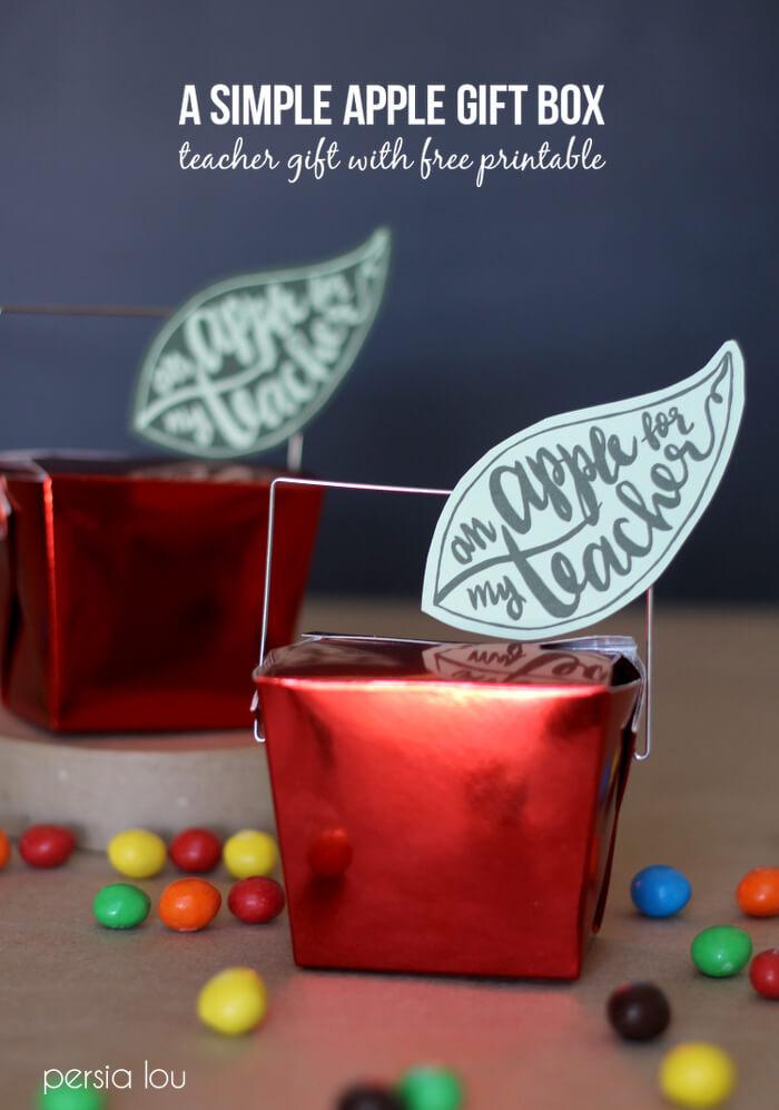apple teacher gift box 5