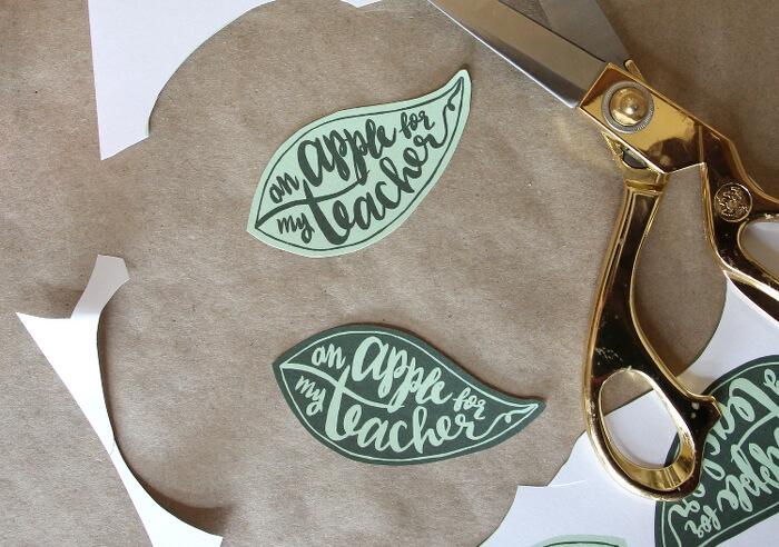 apple teacher gift idea