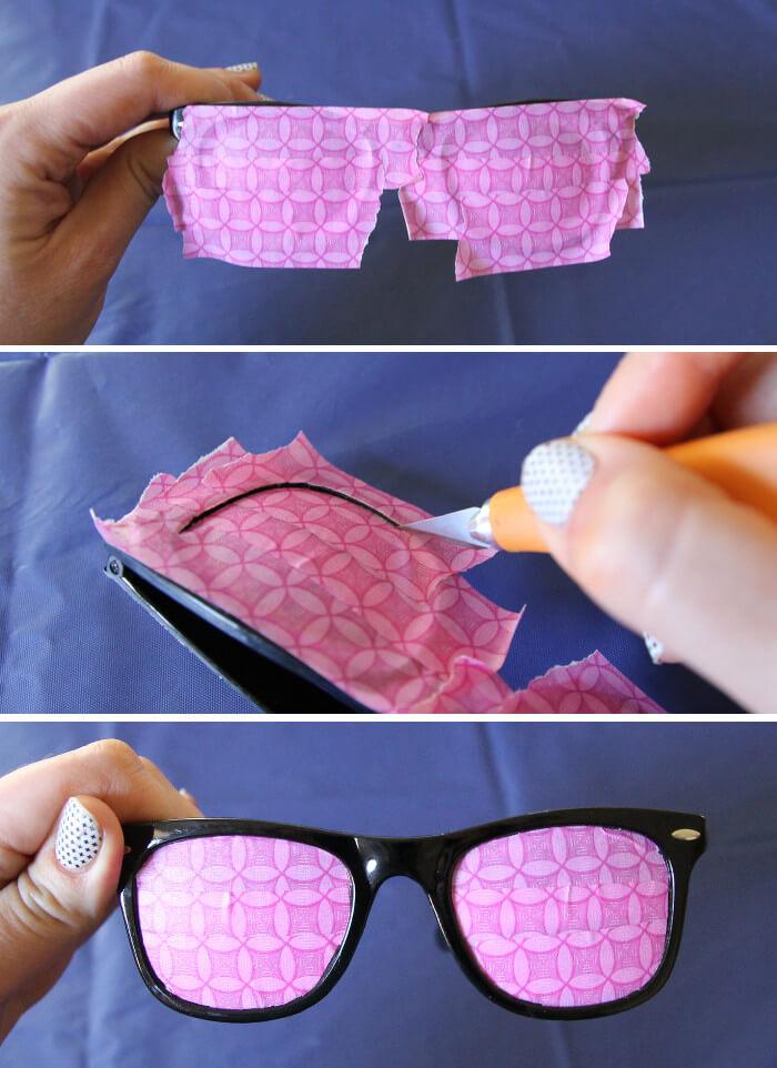 DIY Marbled Sunglasses