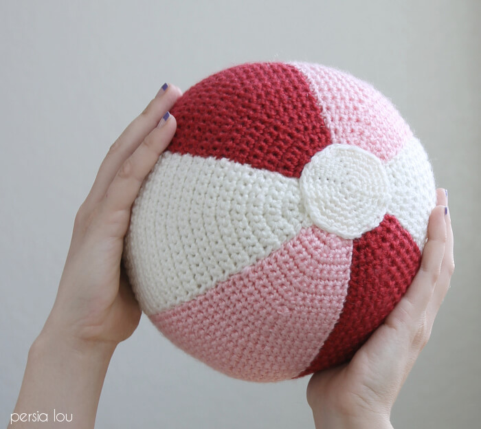 Diy Stuffed Beach Ball Crochet Ball Pattern Persia Lou