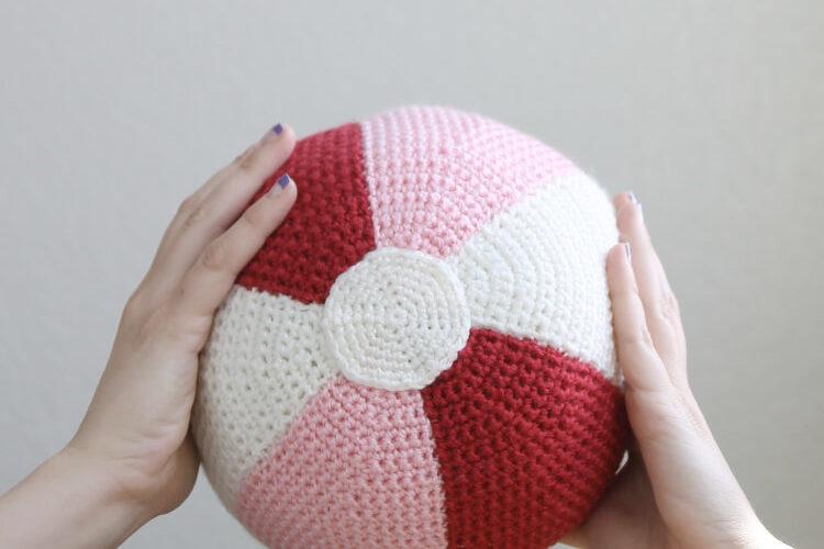 Crochet Beach Ball Pattern