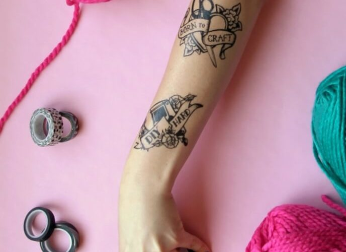 DIY Maker Tattoos