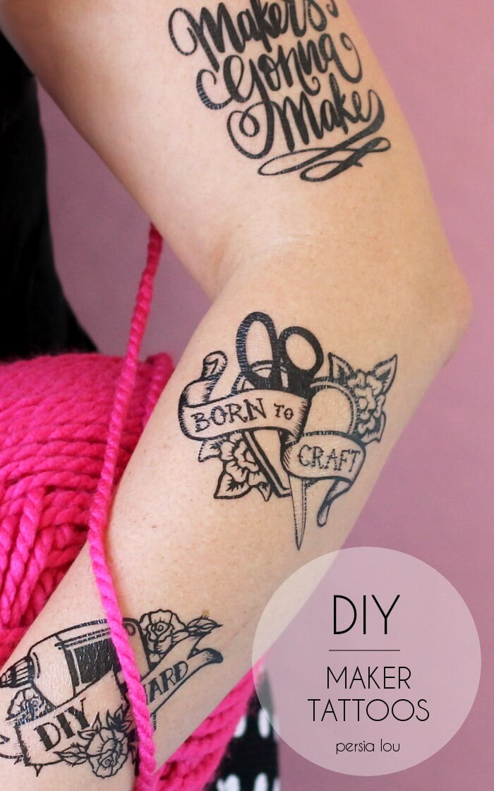 Diy Henna Tattoo Ink Without Henna Powder: DIY Maker Tattoos