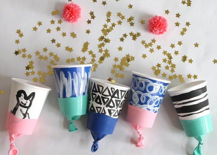 DIY Confetti / Pom Pom / Water Poppers