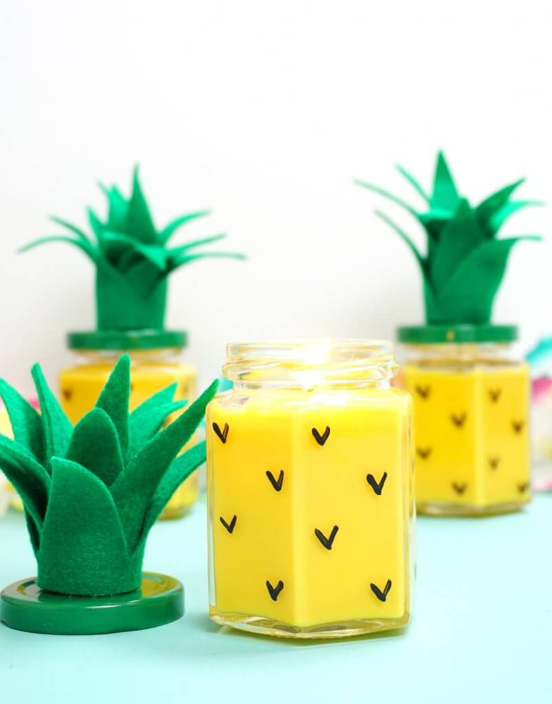 Pineapple Crafts for the Home