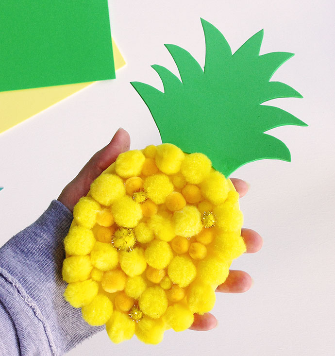 Pineapple Kids Crafts