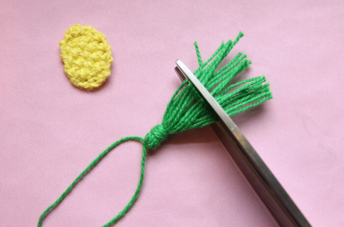 How to make Mini Crochet Pineapple Accessories - earrings or a lapel pin! Free crochet pattern