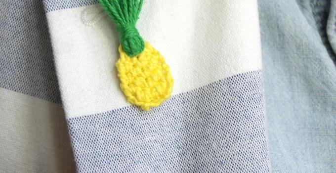Mini Crochet Pineapple Accessories