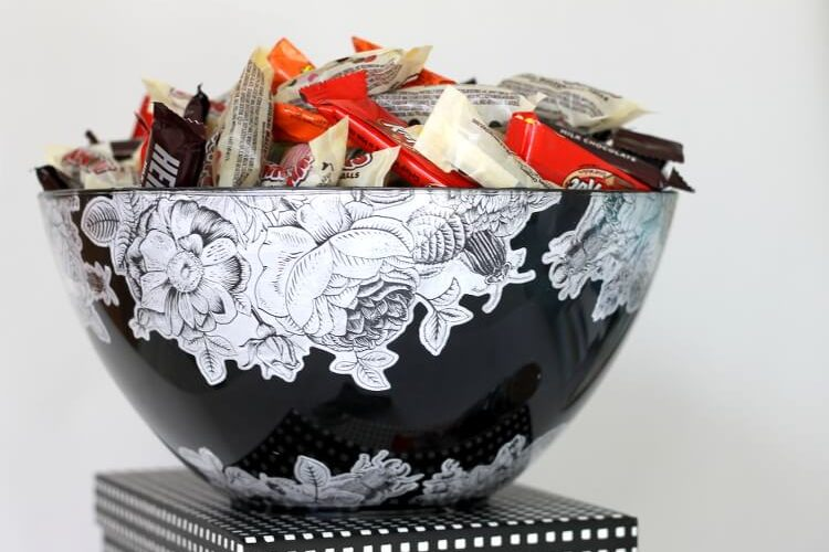 DIY Halloween Treat Bowl at Darice