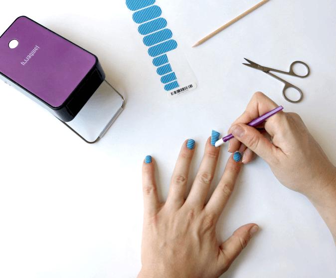 Jamberry Nail Wrap Tips & Tricks - Persia Lou