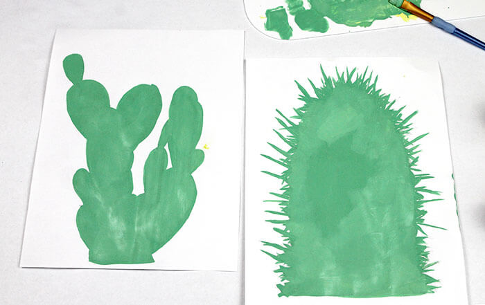 cactus art step one1
