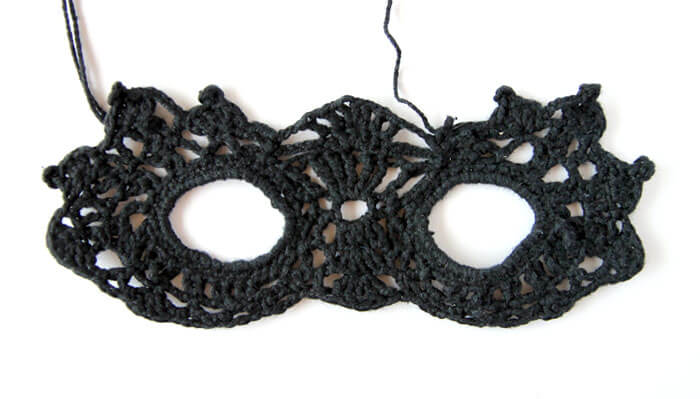 masquerade mask step five