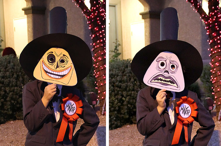 mayor of halloweentown from nightmare before christmas