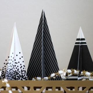Printable 3D Christmas Trees