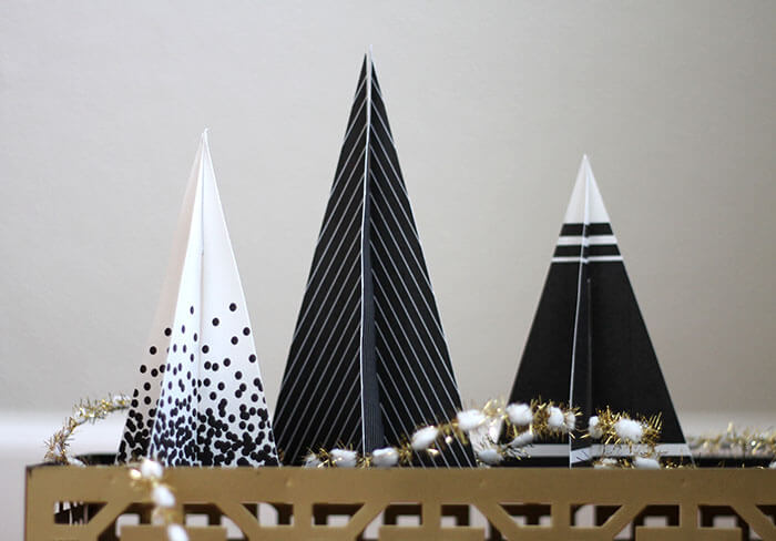 Free 3D Printable Modern Christmas Trees