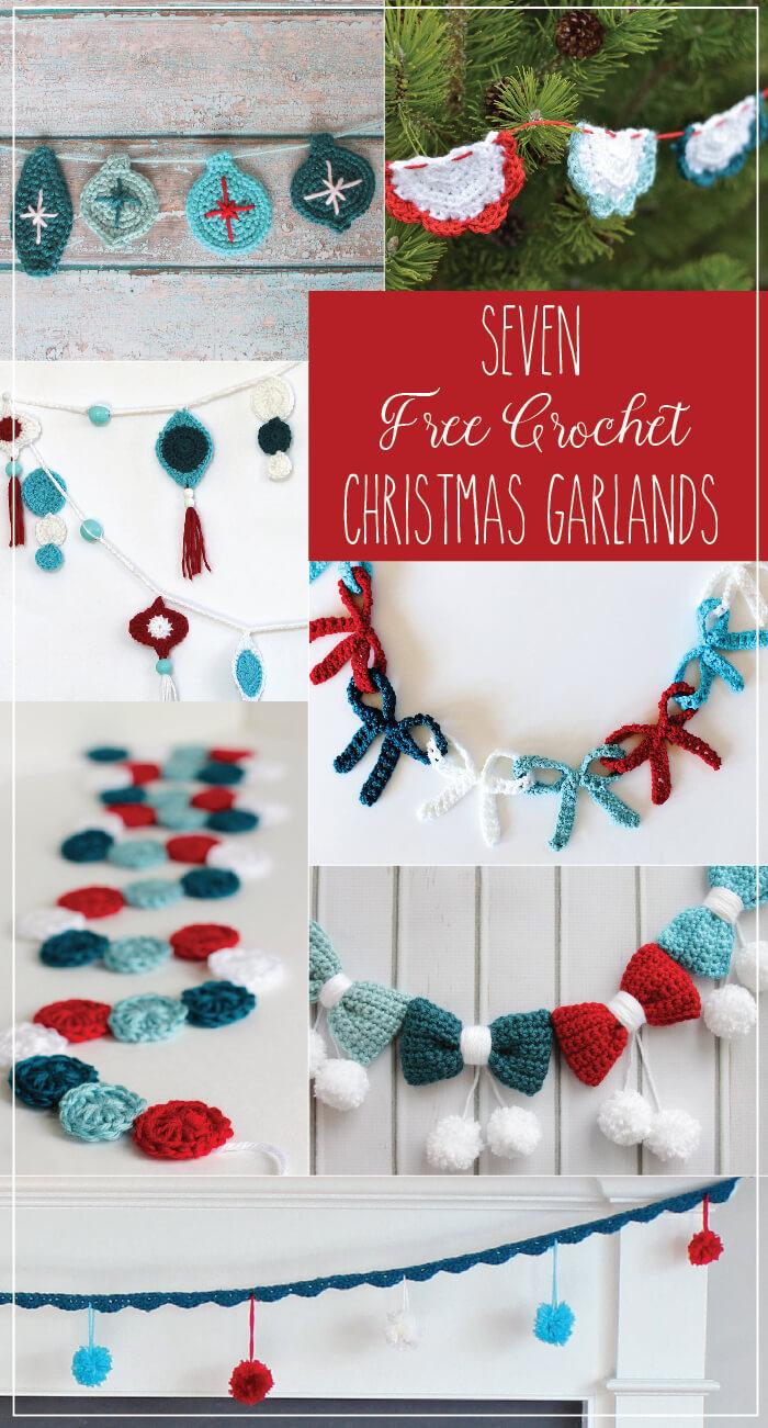 Crochet Retro Ornament Garland Persia Lou