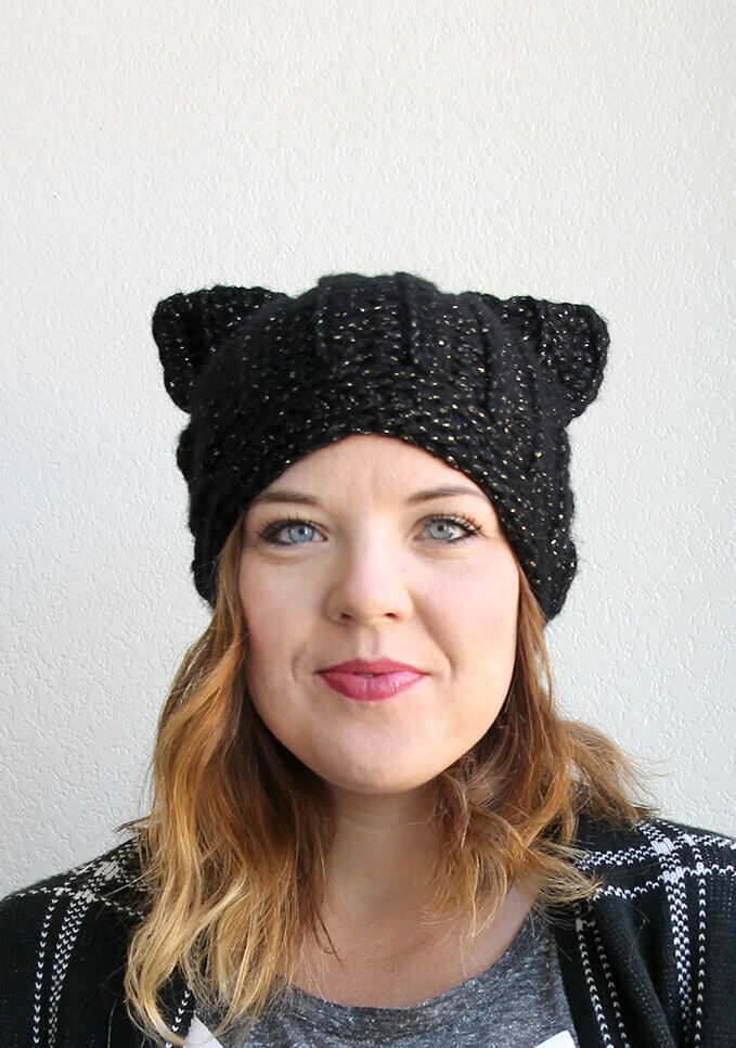 Crochet Cat Ears Pattern | Crochet unicorn, Crochet cat hat, Cat hat pattern | 966x679