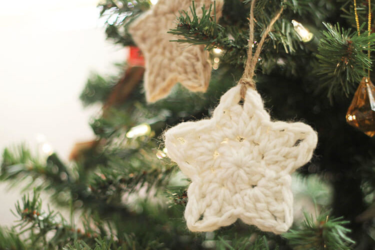 Crochet Star Ornaments at Darice