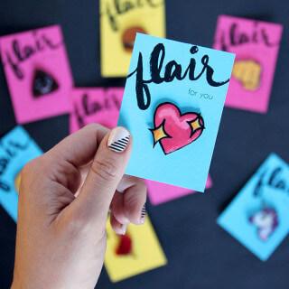 DIY Lapel Pins – Emoji Pin Flair!
