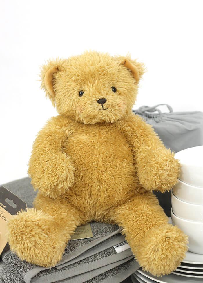 share the joy bear necessity bin