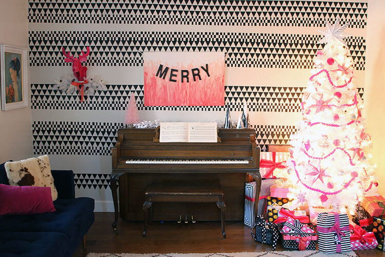 A Merry (Pink!) Christmas