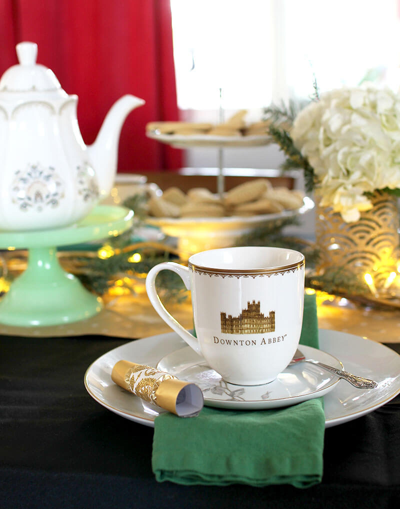 How to Host a Downton Abbey Winter Tea Party