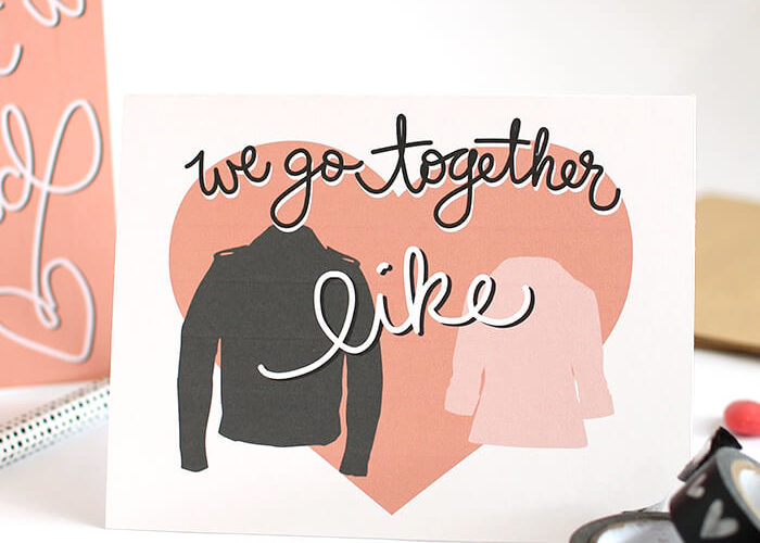 Grease Inspired Printable Valentines