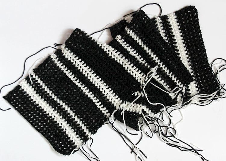 plaid scarf step one 1