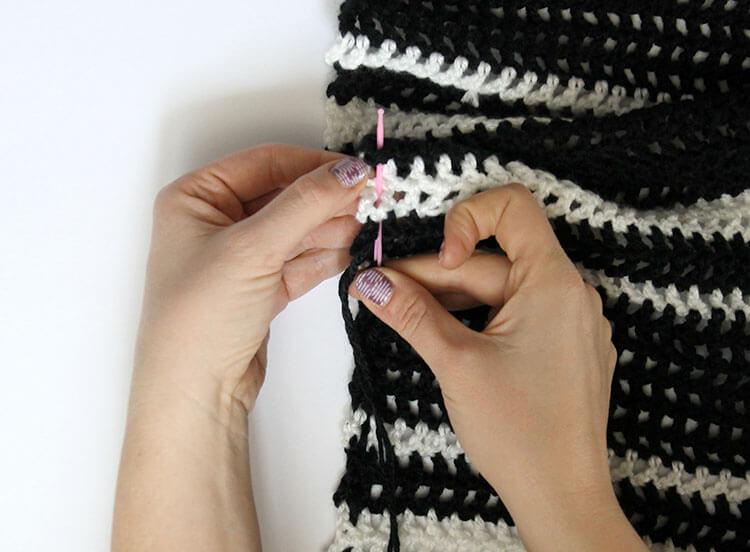 plaid scarf step two 1
