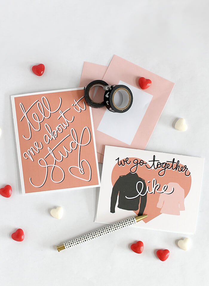 printable grease valentines 1