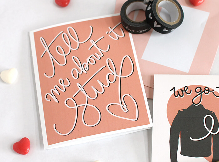 printable grease valentines 2