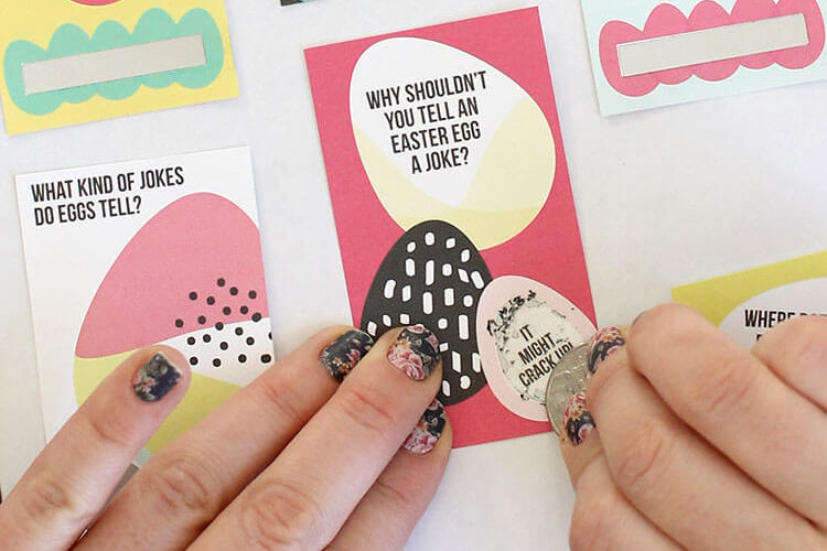 Scratch Off Easter Jokes at Crafts Unleashed