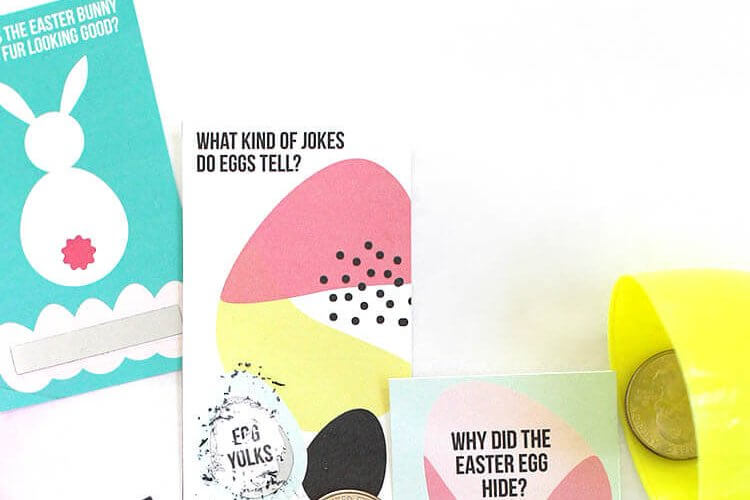 Printable Scratch Off Easter Jokes
