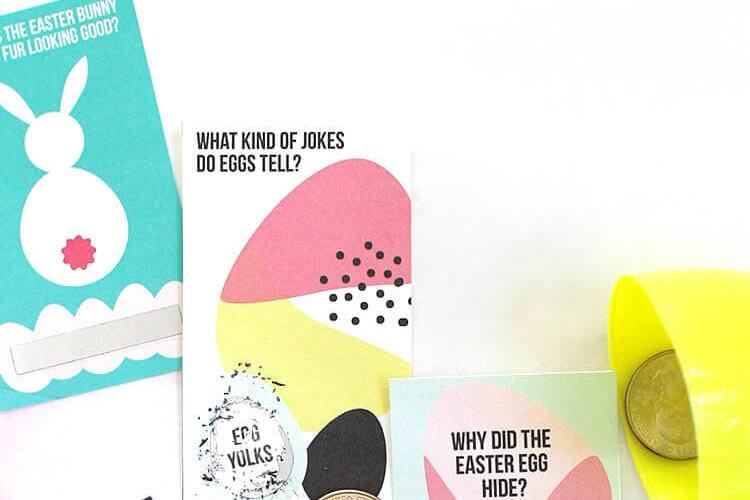 Printable Scratch Off Easter Jokes