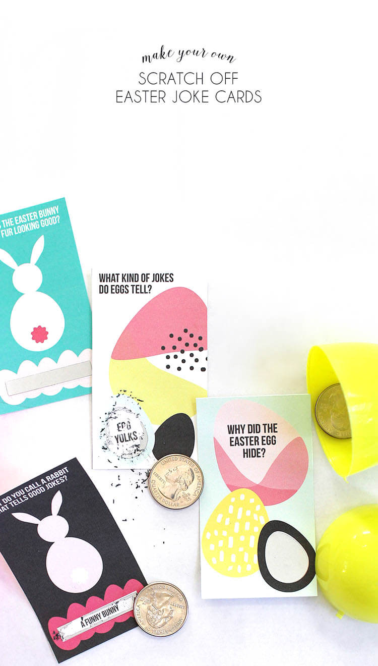 Printable Scratch Off Easter Jokes - Persia Lou