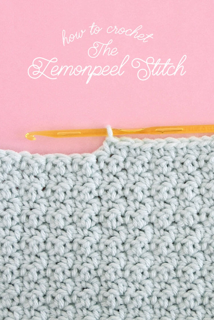 How to crochet the shell stitch for beginners persia lou how to crochet lemon peel stitch step by step tutorial for this simple stitch that ccuart Gallery