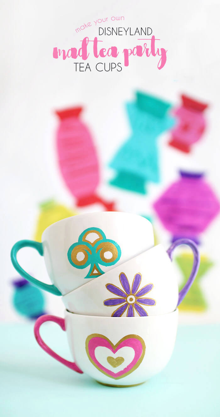diy disneyland mad tea party tea cups persia lou
