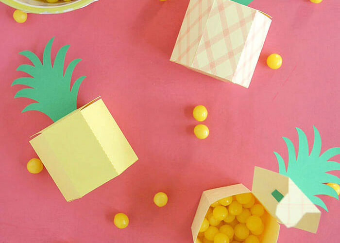 Make: DIY Pineapple Box