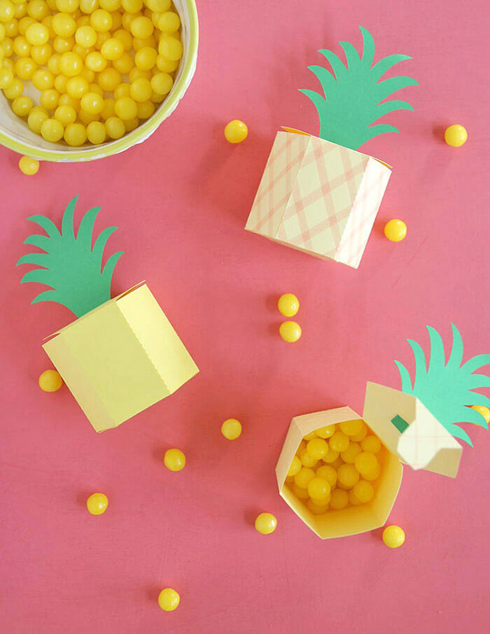 DIY Pineapple Box