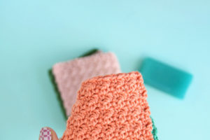 How to Crochet a Washcloth + Free Crochet Dishcloth Patterns