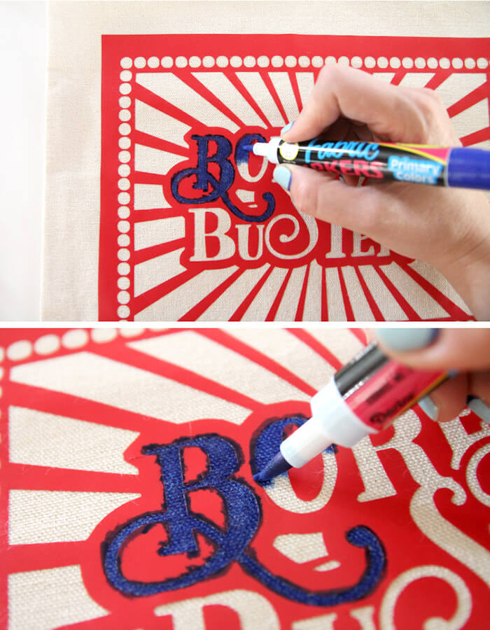 color in - kids boredom busters bag