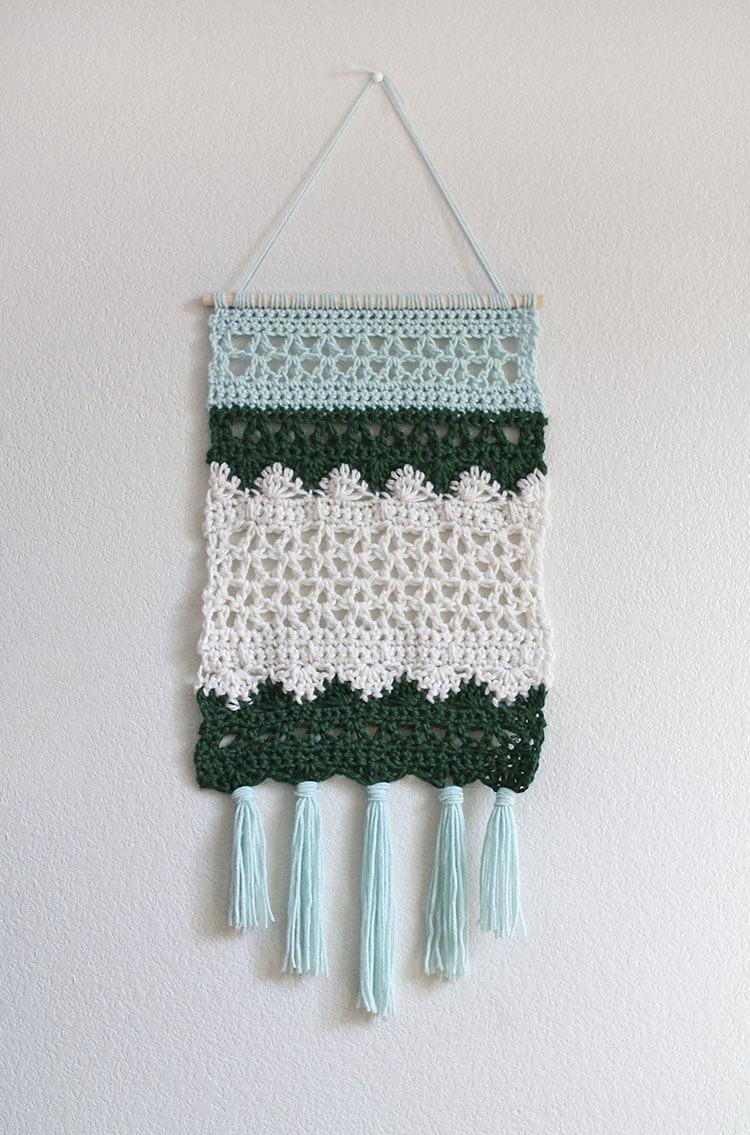 Crochet Wall Hanging Pattern - Persia Lou