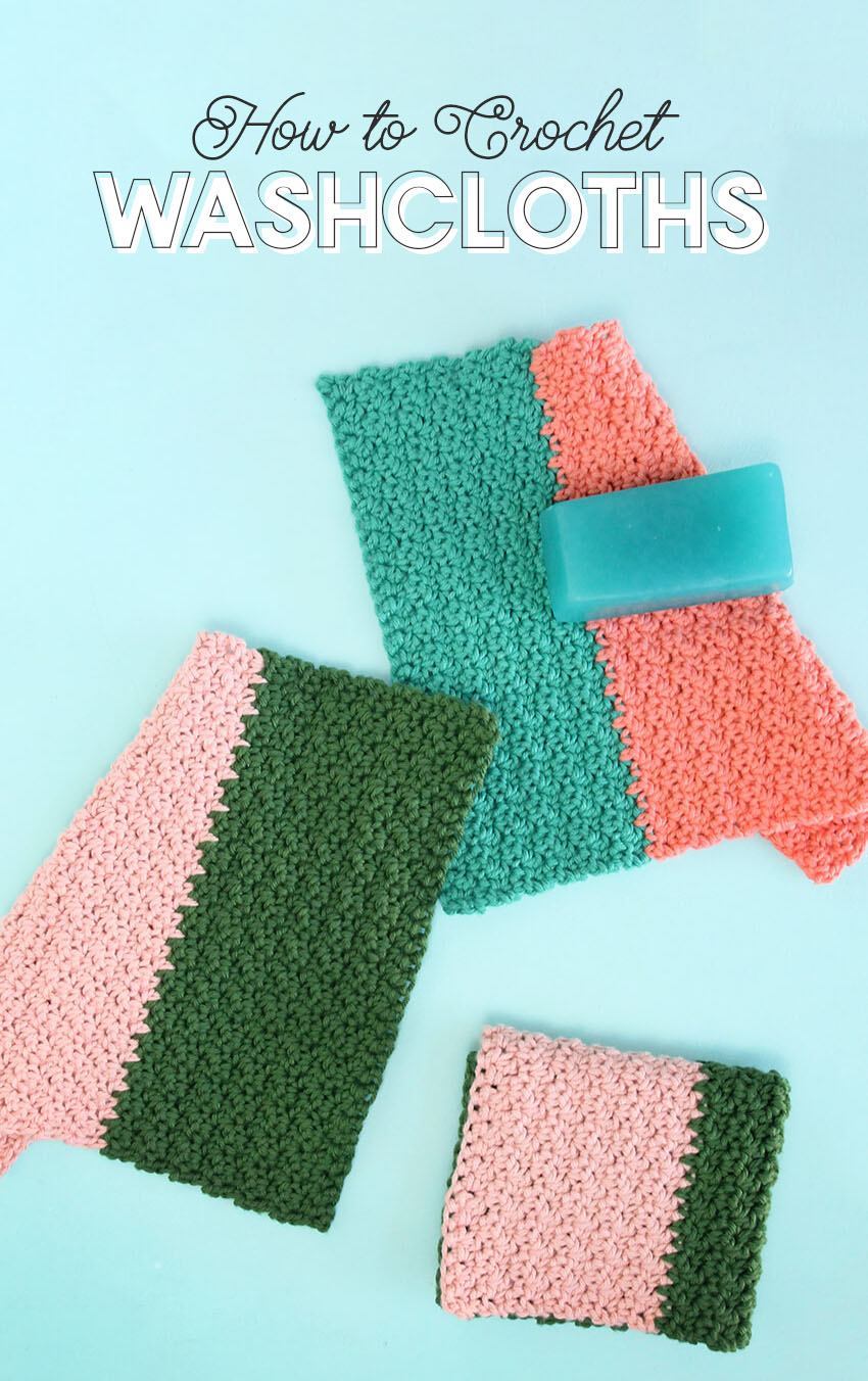 crochet washcloth - how to crochet a washcloth
