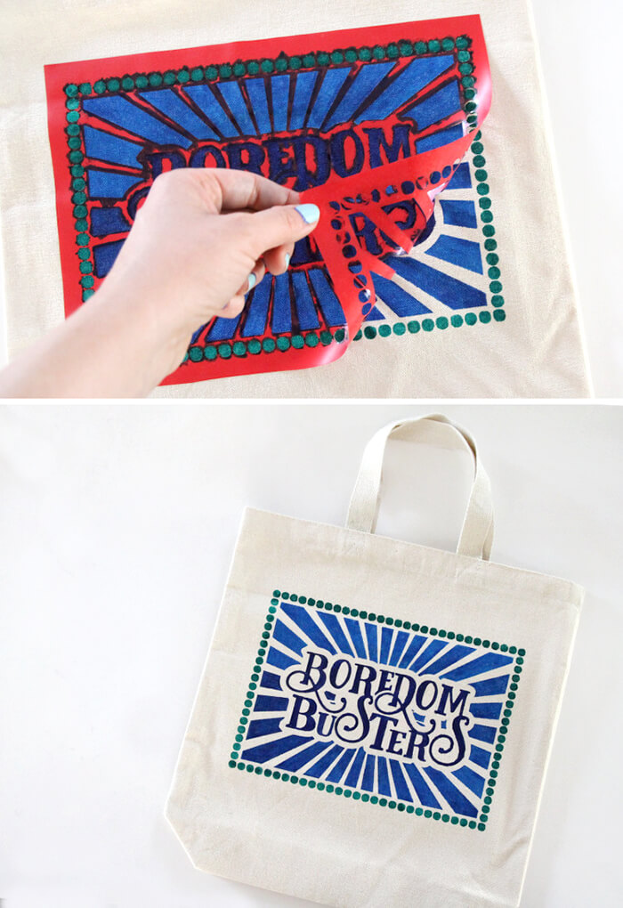 reveal - kids boredom busters bag