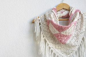 The Trillium: Geometric Triangle Scarf Crochet Pattern