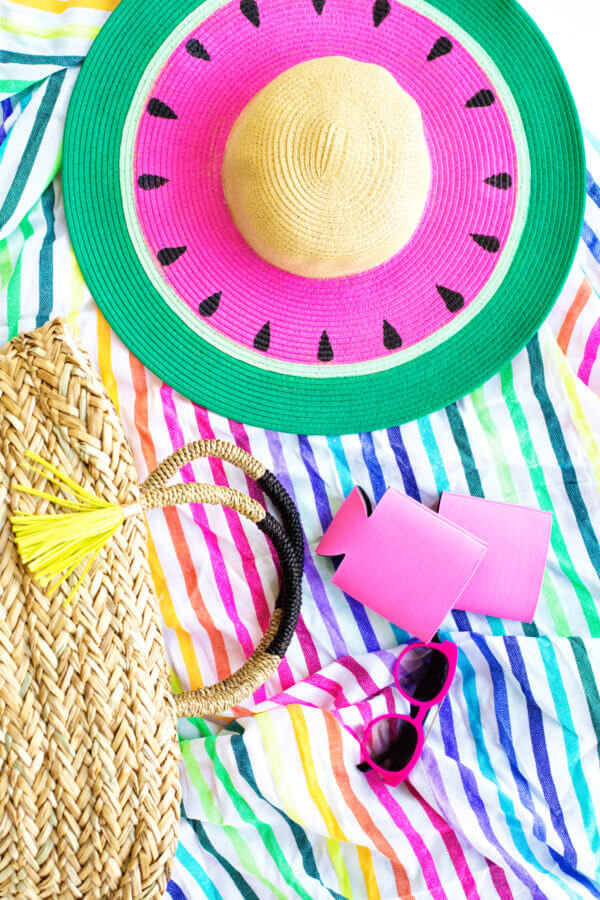 Watermelon Floppy Hat - Studio DIY