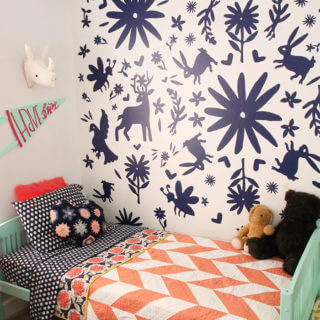 Giant Otomi Wall DIY (with Vinyl!)