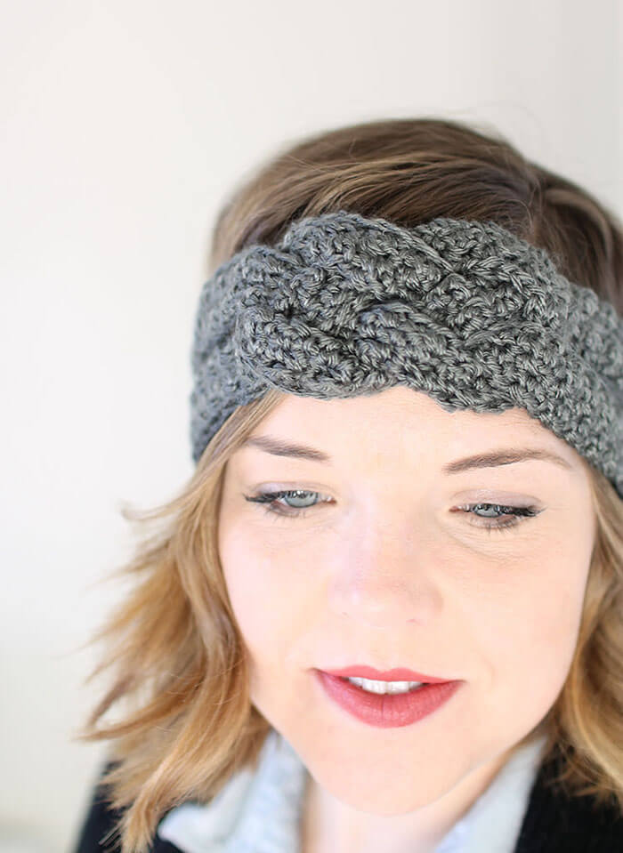 Sailor Knot Crochet Headband Free Pattern Persia Lou