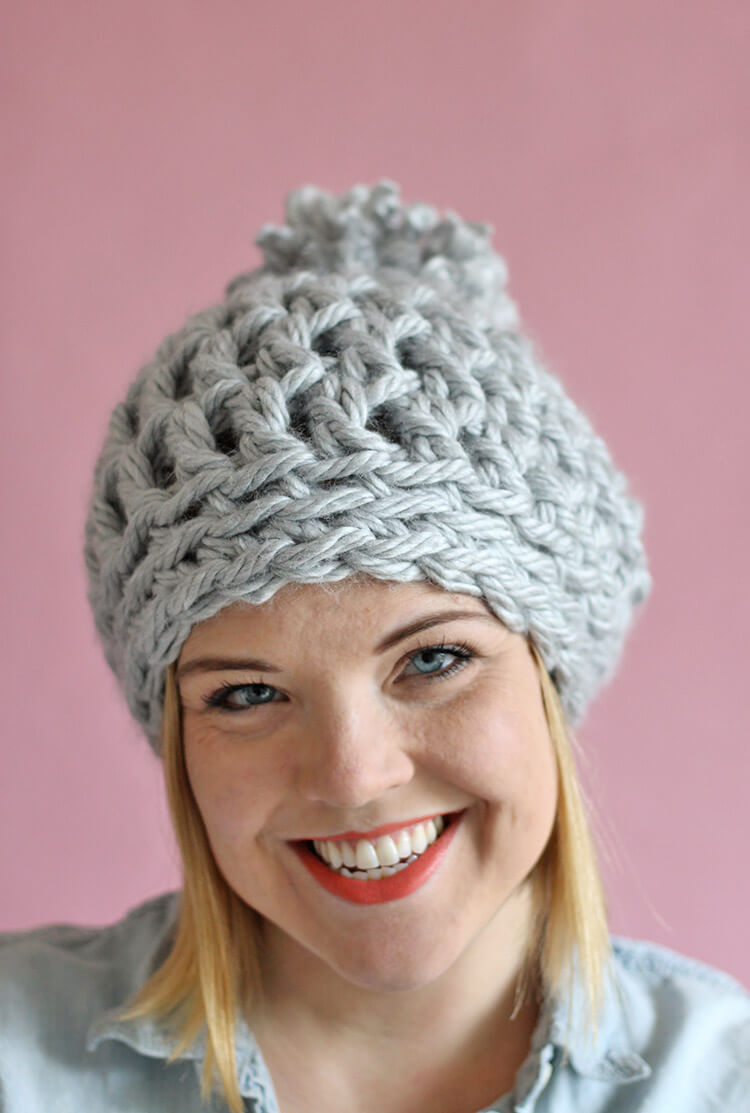 Simple Crochet Beanie Free Pattern Interesting Design